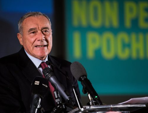 "Pietro Grasso: ""no alle larghe intese"""