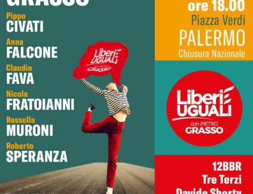 La campagna elettorale la chiudiamo a Palermo